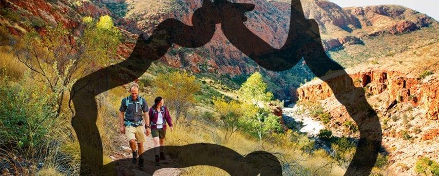 Map View Australia Trail Hiking Australia