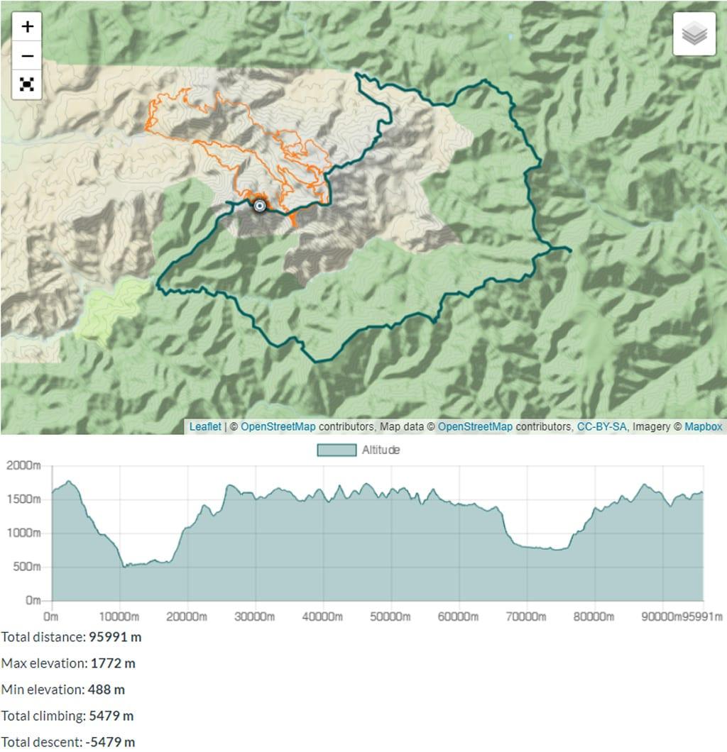 buller huts trail map trail hiking australia