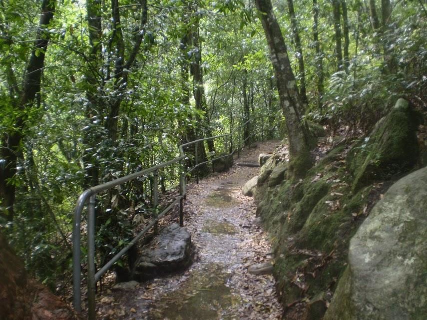 Echo Point to Scenic World via Giant Stairway
