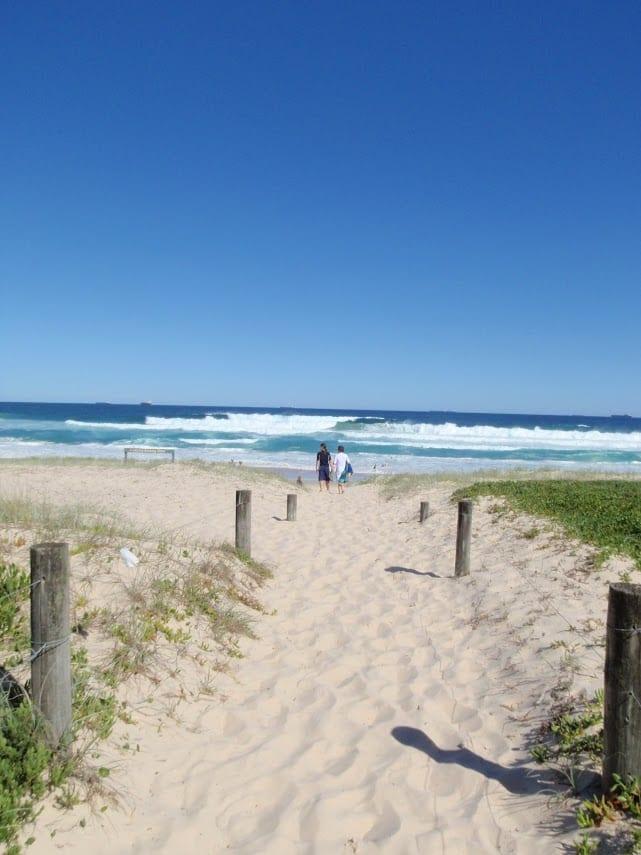 Freemans camping area to Birdie Beach