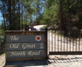 Great North Road and Dubbo Gully