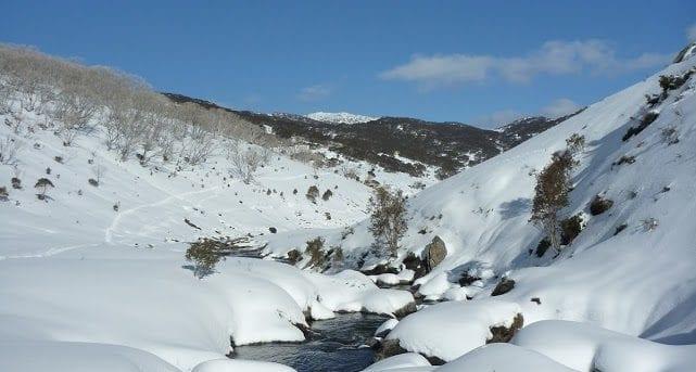 Guthega River Snowshoe