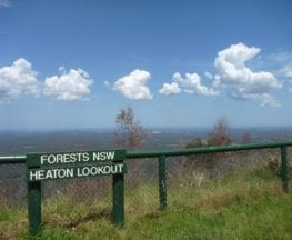 Heaton Lookout  to Heaton Gap