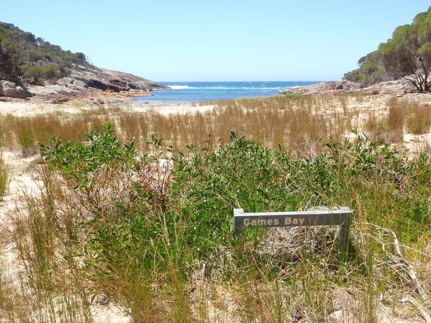 Hobart Beach to Games Bay