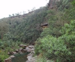 Lapstone to end of Glenbrook Gorge