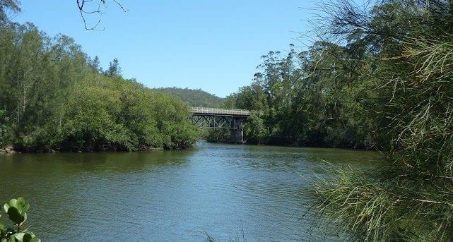 Mooney Mooney Creek Trackhead to Somersby