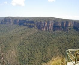 Pulpit Rock car park to Top Lookout