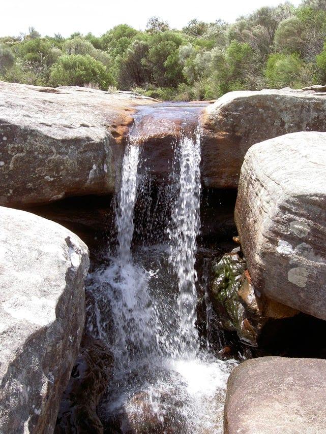 Wattamolla picnic area to Wattamolla Dam