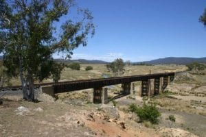 Bungendore to Captains Flat