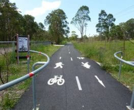 Glendale to Wallsend Cycleway