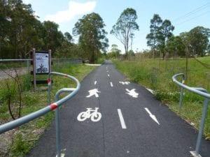 Glendale to Wallsend Cycleway