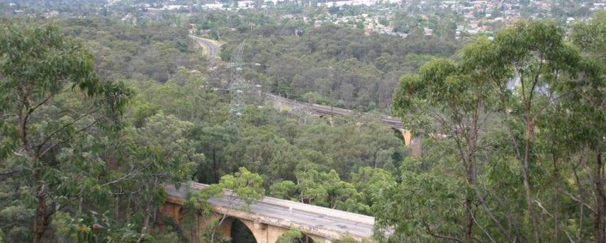 Lapstone Viaduct and Zig Zag