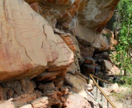 Nanguluwur Rock Art Site