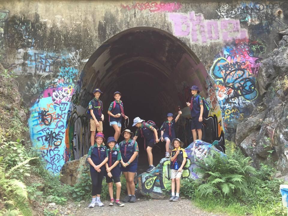 South Coast Rail Trail and Ernest Jtn Tunnel