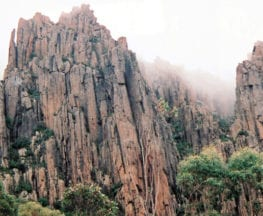 Organ Pipes Mt Wellington Trail Hiking Australia
