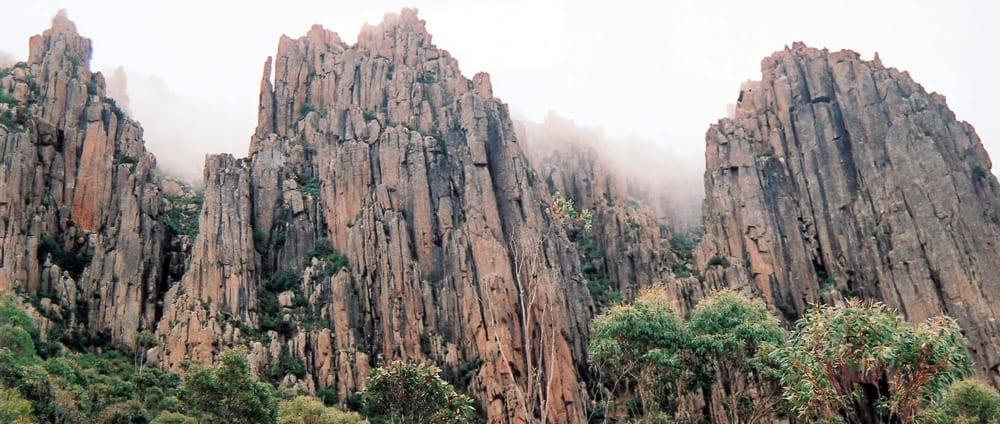 Organ Pipes Mt Wellington Trail Hiking Australia