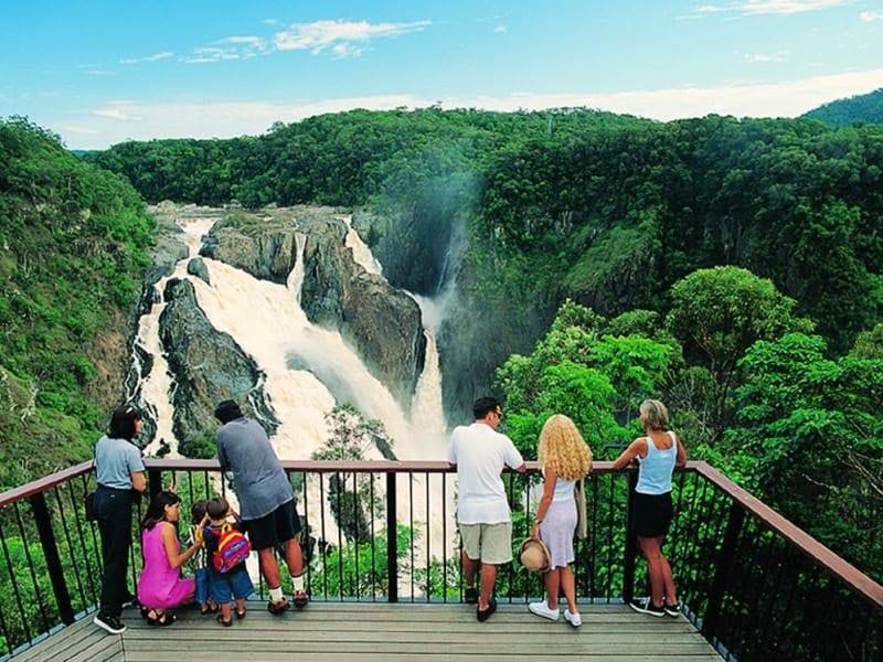 Barron Falls Lookout Track