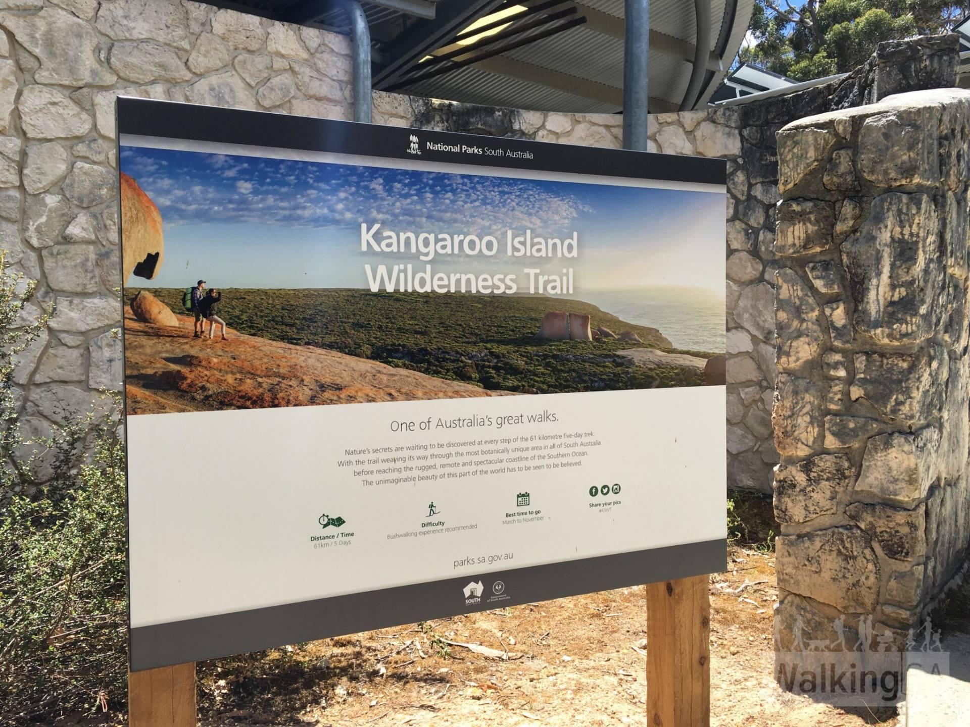 Kangaroo Island Wilderness Trail - Day 1: Rocky River Section