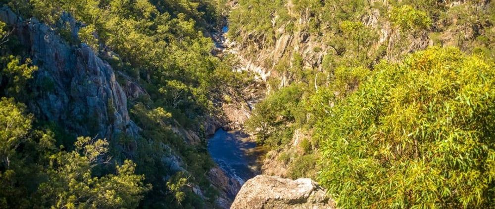 Crows Nest Falls Lookout Crows Nest National Park