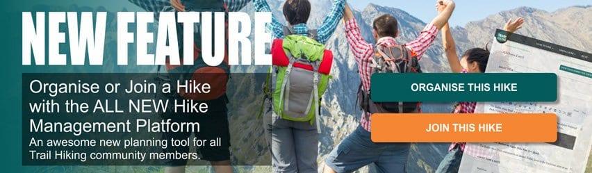 Organise or Join a Hike Trail Hiking Australia