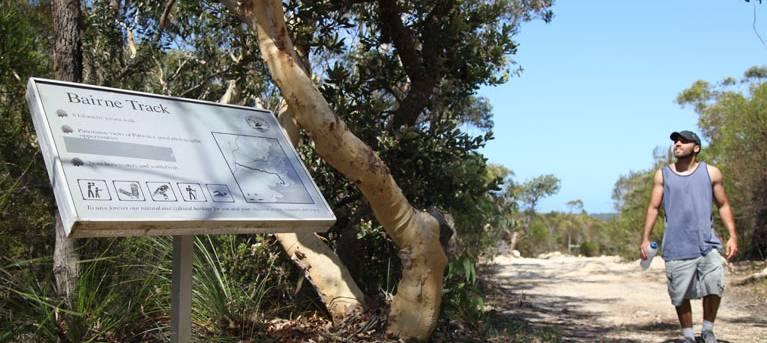Bairne walking track Trail Hiking Australia
