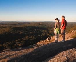 Bald Rock Summit walking track Trail Hiking Australia