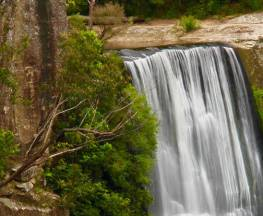 Belmore Falls walking track Trail Hiking Australia