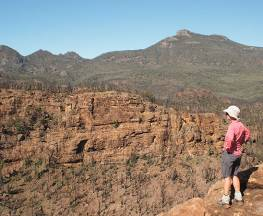 Belougery Split Rock walking track Trail Hiking Australia