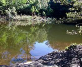 Blue Pool walking track Trail Hiking Australia