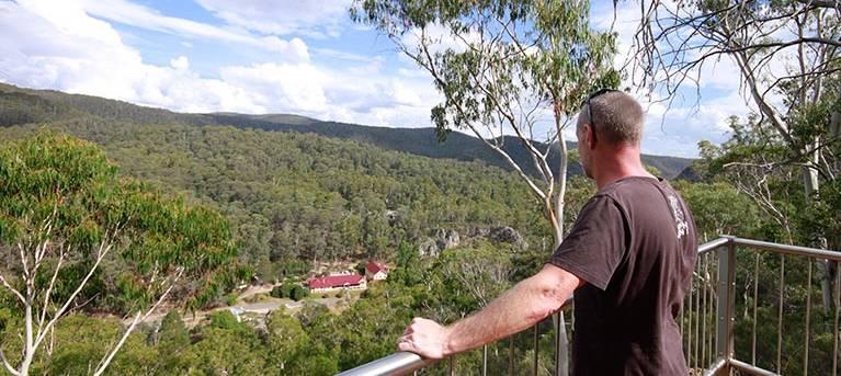 Bluff lookout walk Trail Hiking Australia