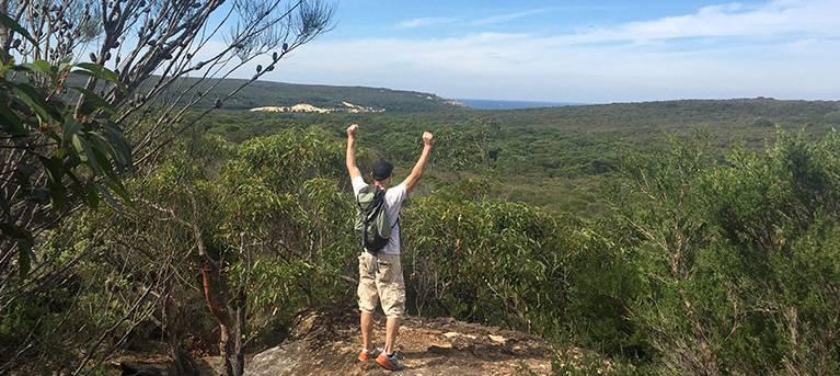 Bundeena Drive to Marley walk Trail Hiking Australia