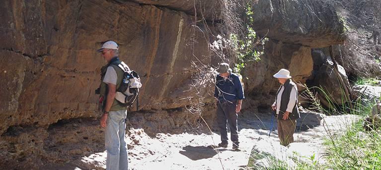 Burbie Canyon walking track Trail Hiking Australia