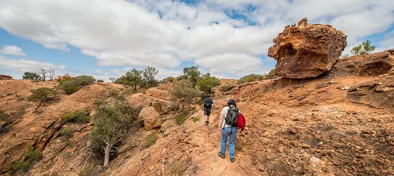 Bynguano Range walking track Trail Hiking Australia