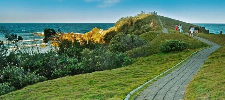 Cape Byron walking track Trail Hiking Australia