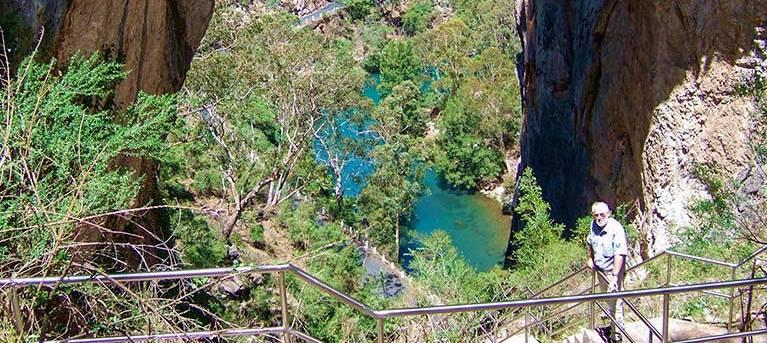 Carlotta Arch walking track Trail Hiking Australia