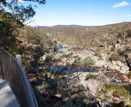 Cascades walking track and viewing platform Trail Hiking Australia