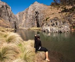 Clarke Gorge walking track Trail Hiking Australia