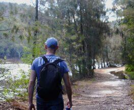 Davidson Park to Stepping Stone Crossing walk Trail Hiking Australia