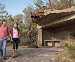 Fort Tomaree walk Trail Hiking Australia