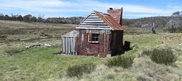 Four Mile Hut walk Trail Hiking Australia