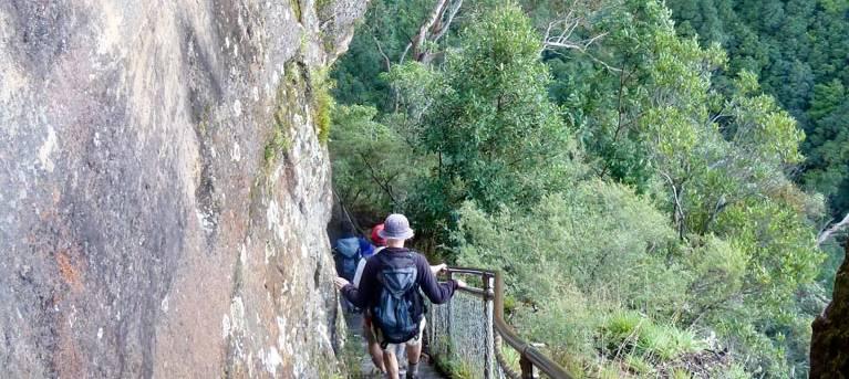 Furber Steps-Scenic Railway walking track Trail Hiking Australia