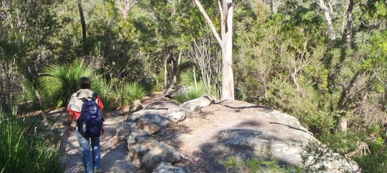 Gibberagong walking track Trail Hiking Australia