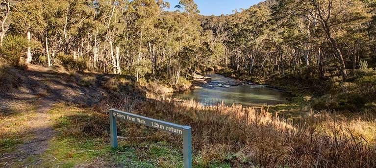 Glory Farm walk Trail Hiking Australia