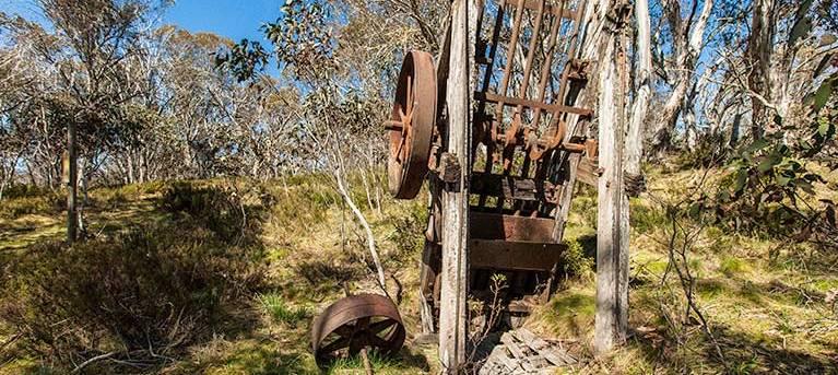 Goldseekers track Trail Hiking Australia
