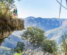Govetts Leap descent Trail Hiking Australia
