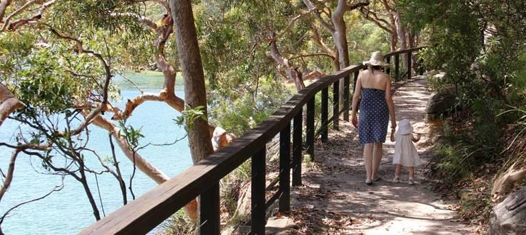 Harbour Bridge to The Spit Bridge walking track Trail Hiking Australia