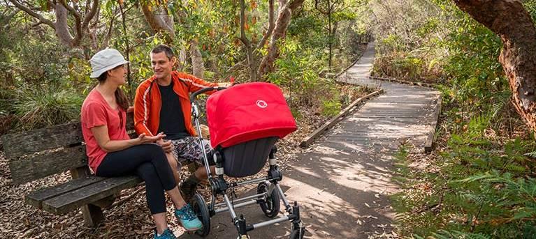 Jennifer Street boardwalk Trail Hiking Australia