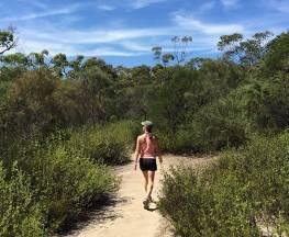 Karloo walking track Trail Hiking Australia