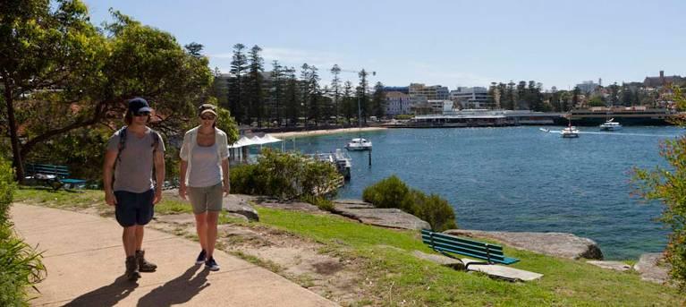 Manly scenic walkway Trail Hiking Australia