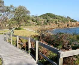 Mimosa Rocks walking track Trail Hiking Australia